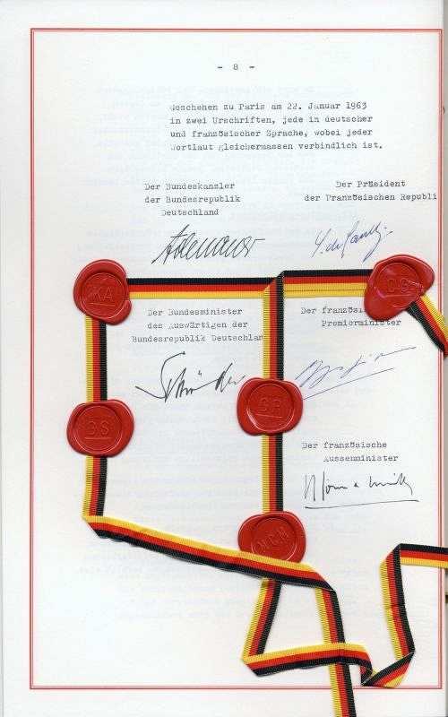 Der deutsch-französische Freundschaftsvertrag – eine Erfolgsgeschichte! – von Prof. Dr. Jochen Mecke
